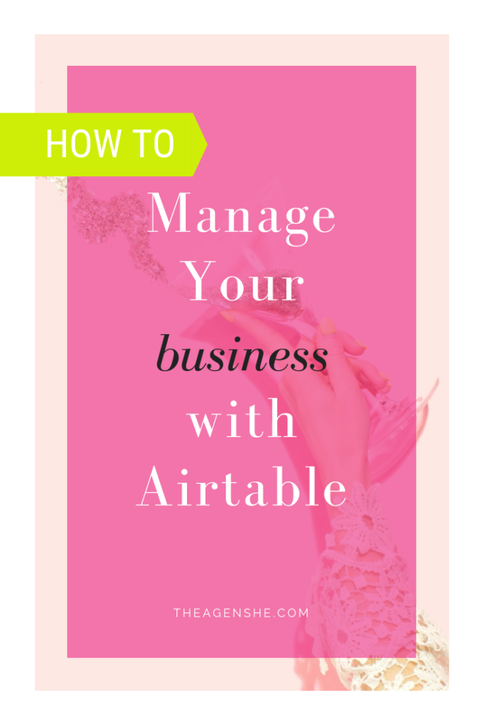 How to manage your luxury service business with Airtable and Dubsado