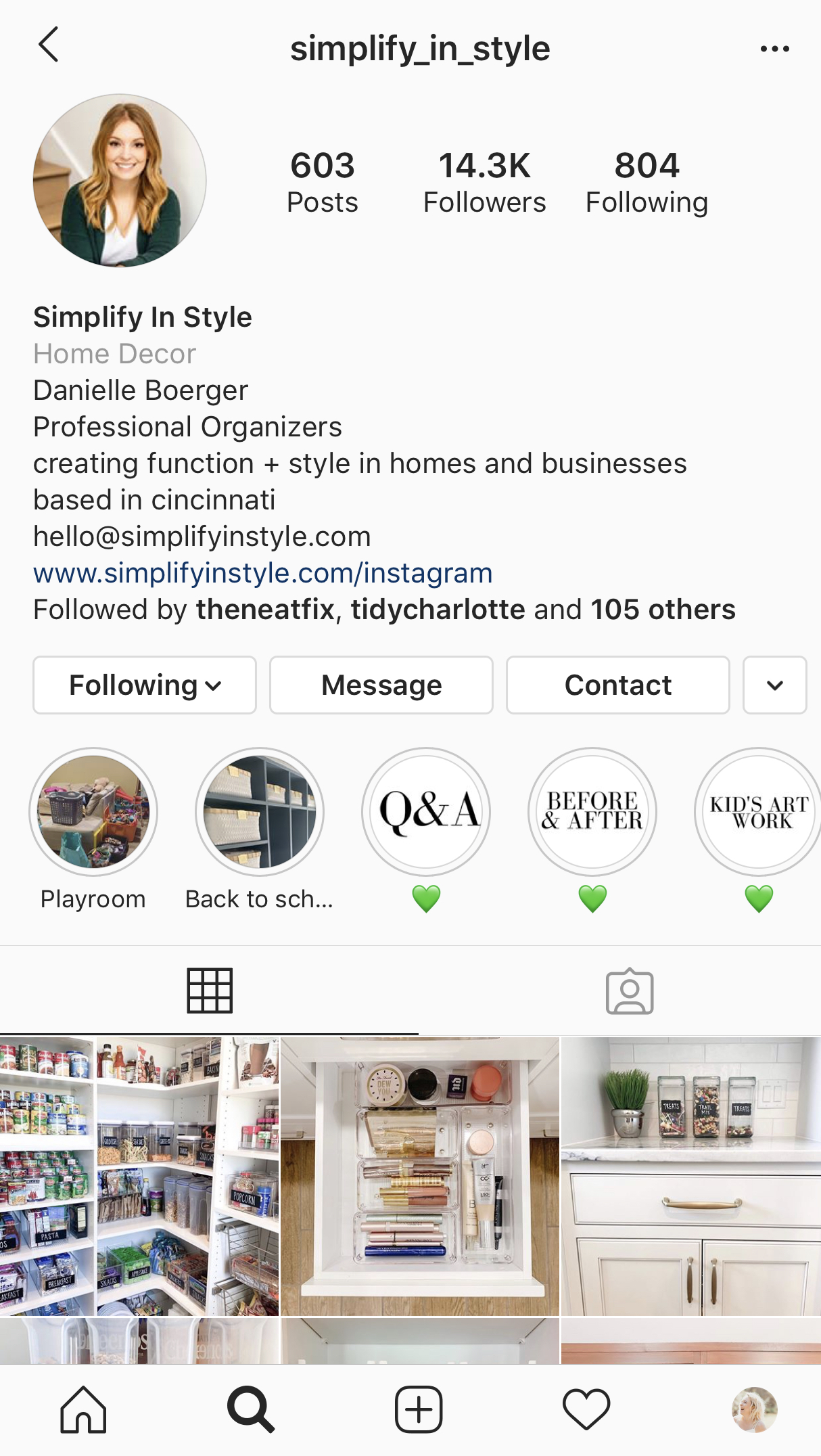 Instagram Marketing Strategy for Professional Organizers